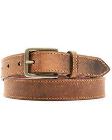 Shyanne Women's Mattie Brown Leather Belt , Brown, hi-res