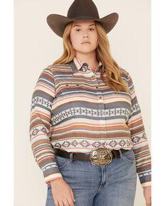 Ariat Women's R.E.A.L. Tribal Long Sleeve Western Shirt - Plus , Multi, hi-res