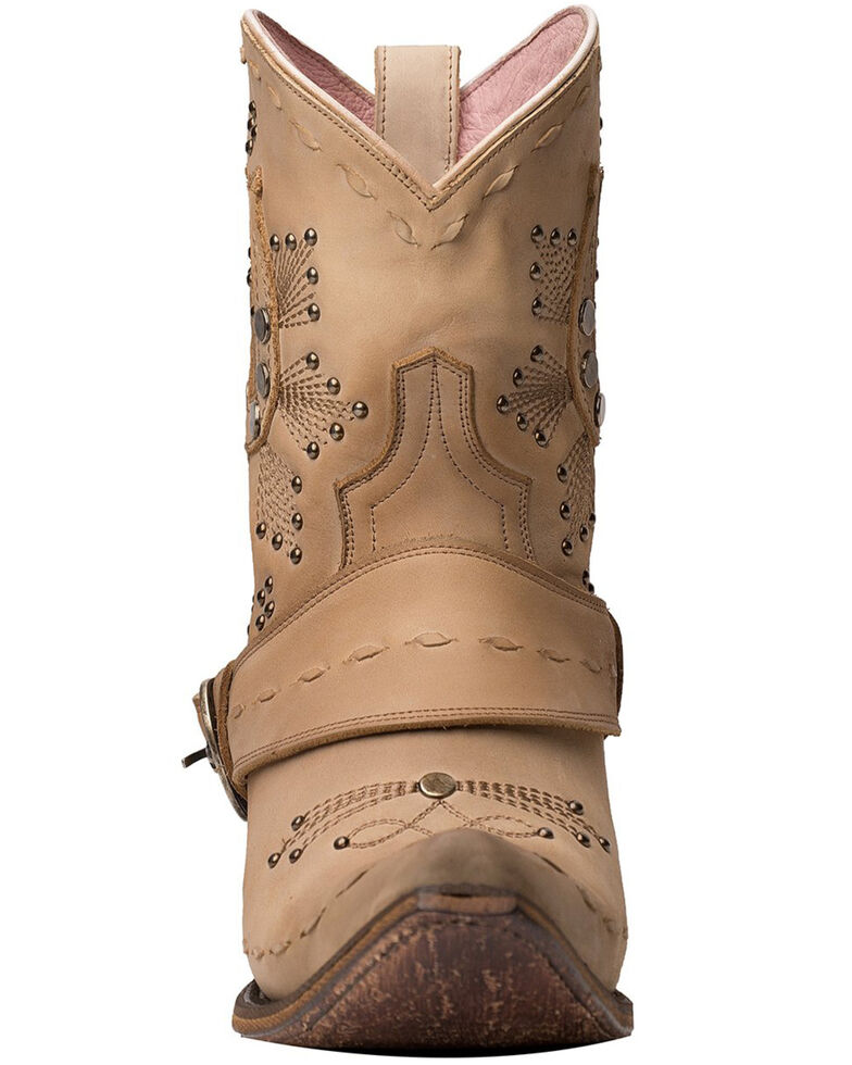 Junk Gypsy by Lane Women's Lady Fortuna Fashion Booties - Snip Toe, Off White, hi-res
