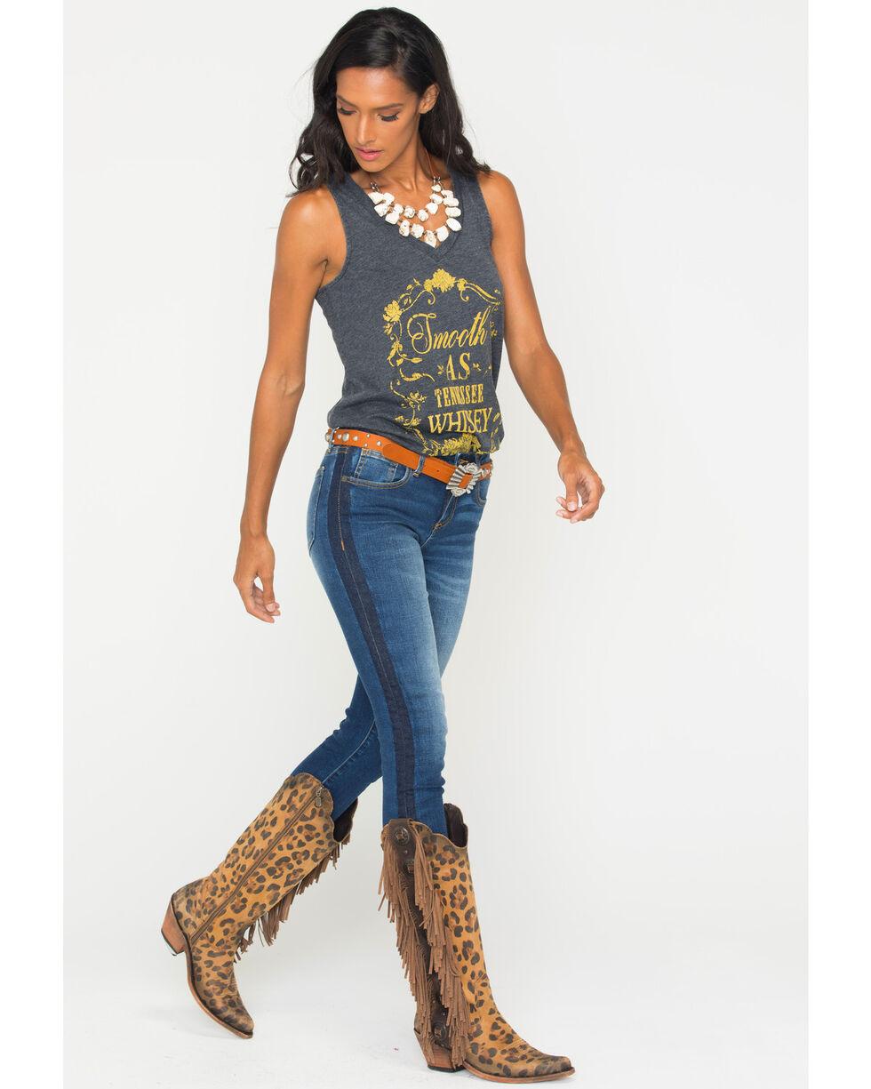 Miss Me Women's On Streak Mid-Rise Ankle Skinny Jeans, Indigo, hi-res