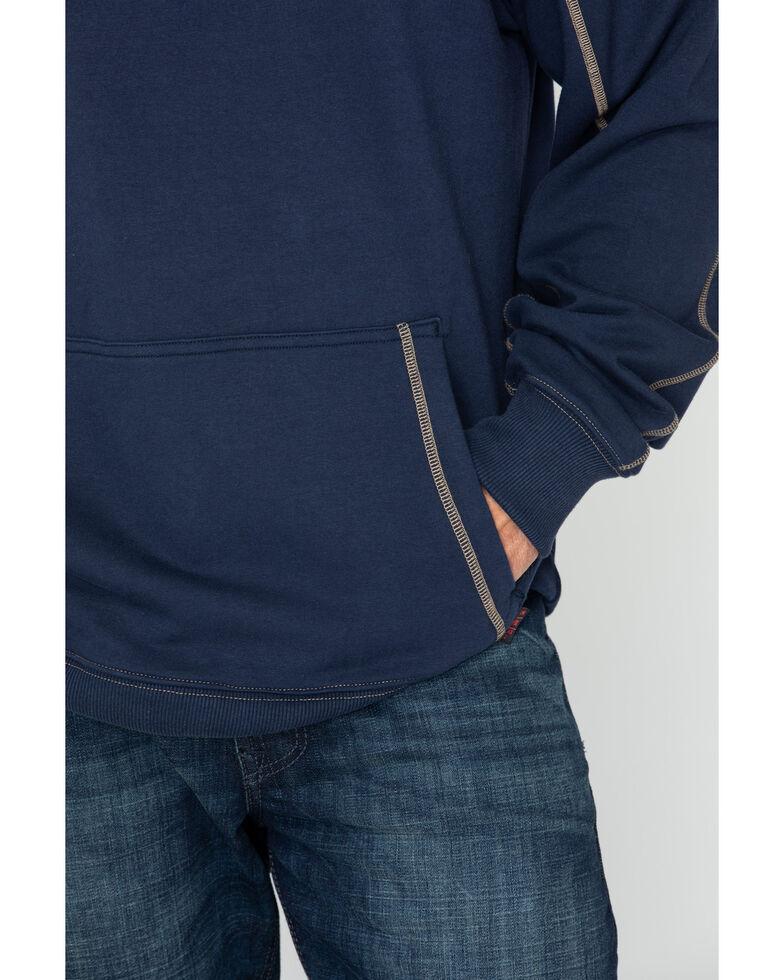 Cinch WRX Men's FR 1/4 Zip Work Pullover , Navy, hi-res