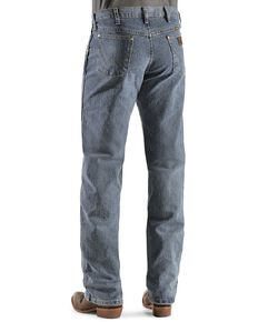 Wrangler Premium Performance Advanced Comfort Mid Tint Jeans, Dark Denim, hi-res