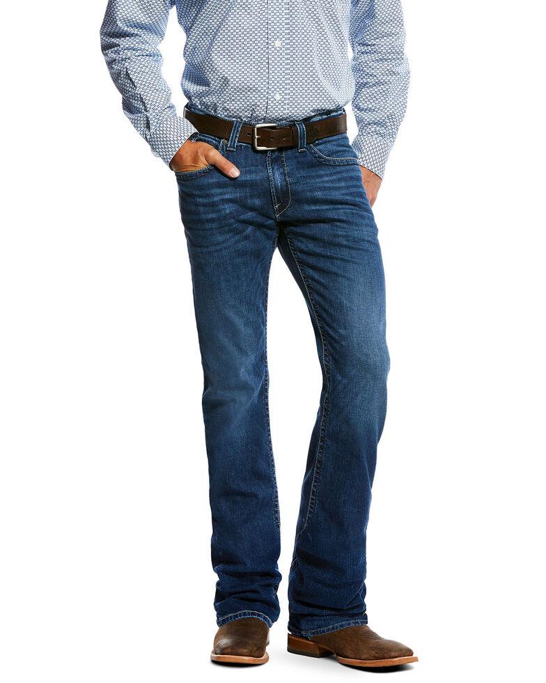 Ariat Men's M5 Forged Slim Straight Jeans , Indigo, hi-res
