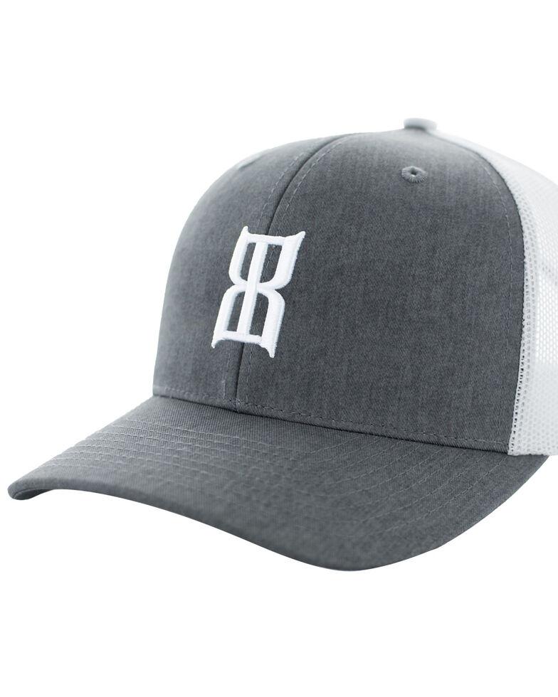 Bex Men's Heather Steel Baseball Cap, Heather Grey, hi-res