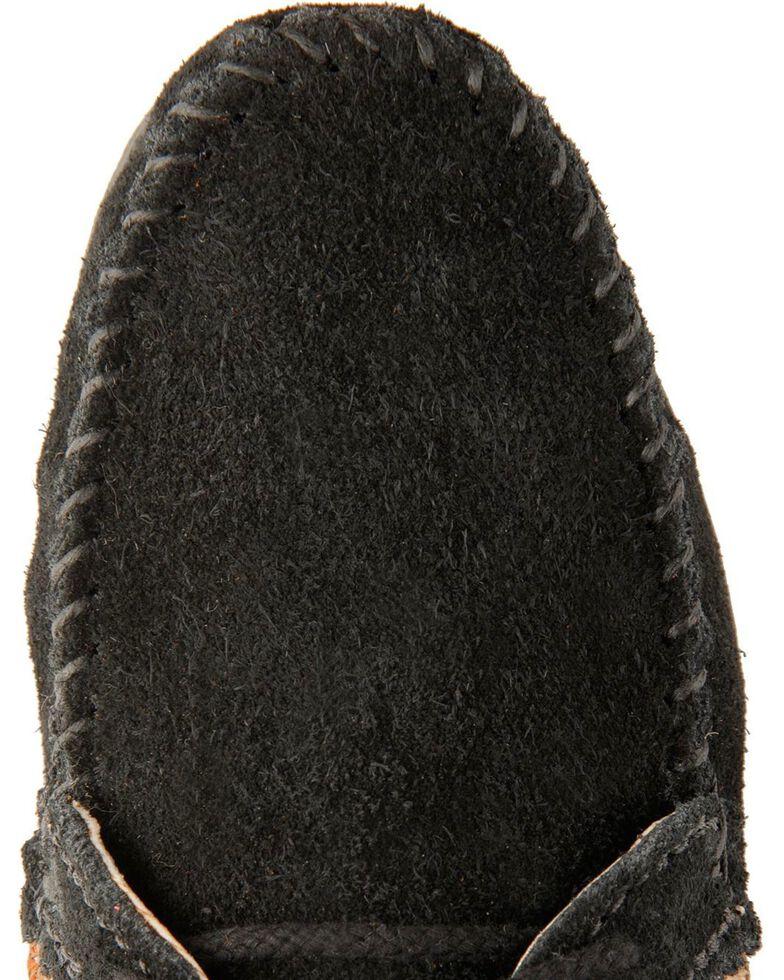 Women's Minnetonka El Paso Ankle Moccasin Boots, Black, hi-res