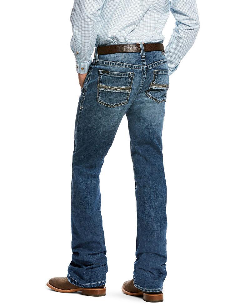 Ariat Men's M2 Fargo Relaxed Boot Jeans , Indigo, hi-res