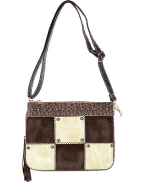 Savana Women's Patchwork Handbag, Ivory, hi-res