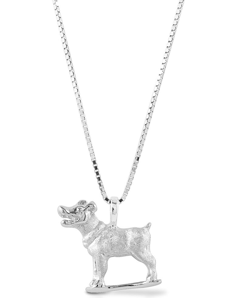 Kelly Herd Women's Jack Russell Necklace , Silver, hi-res