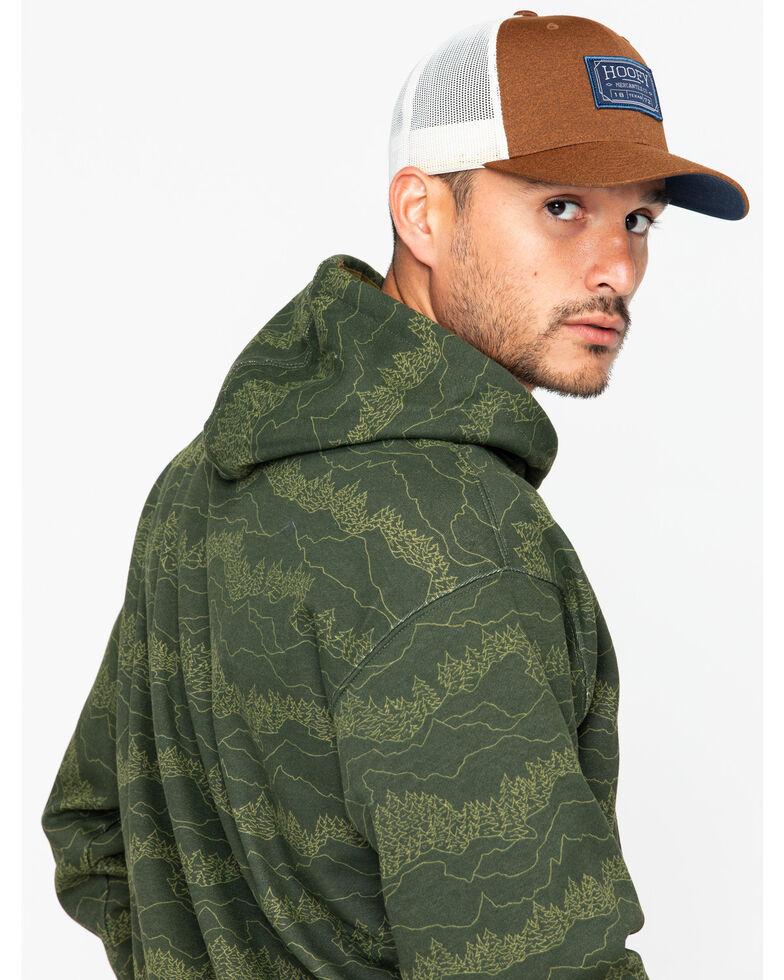 Ariat Men's Branded Brine Hoodie, Olive, hi-res