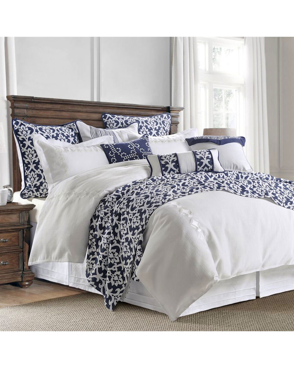 HiEnd Accents 4 Piece Kavali Comforter Set - Super King , Multi, hi-res