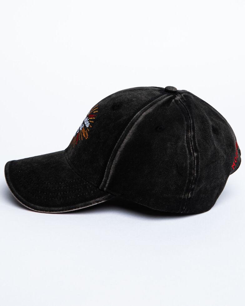 Moonshine Spirit Men's Electric Embroidered Ball Cap , Black, hi-res