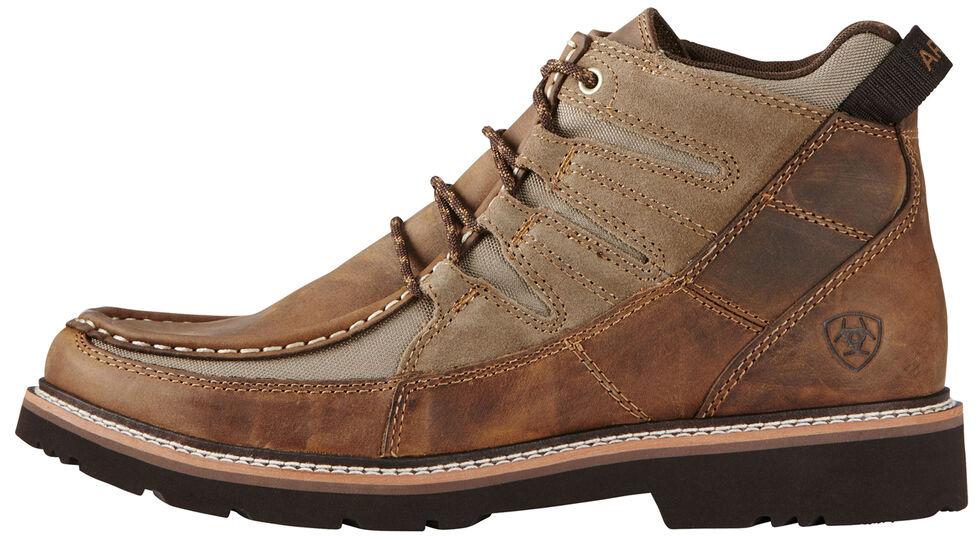 Ariat Men's Exhibitor Casual Boots - Moc Toe, Distressed, hi-res