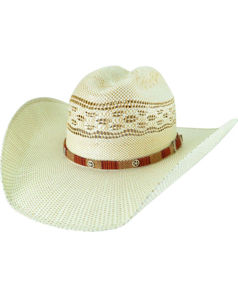 Bailey Men's Spradley Bangora Straw Cowboy Hat, Sand, hi-res