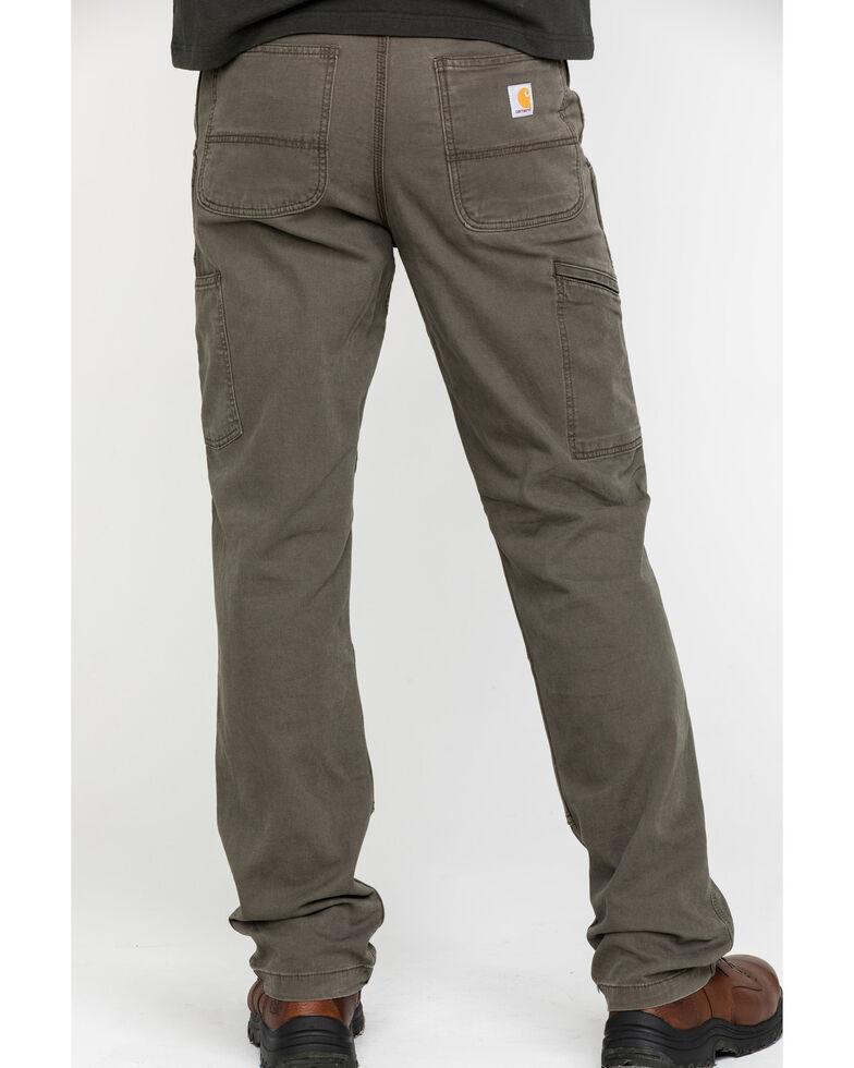 Carhartt Men's Rugged Flex Rigby Double-Front Pants - Straight Leg, Medium Grey, hi-res