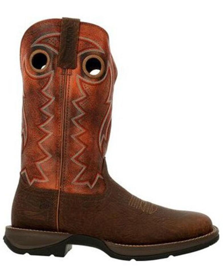 Durango Men's Rebel Western Boots - Square Toe, Brown, hi-res