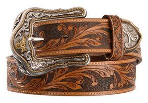 2d267c612c4 Tony Lama Western Ride Leather Belt - Reg & Big