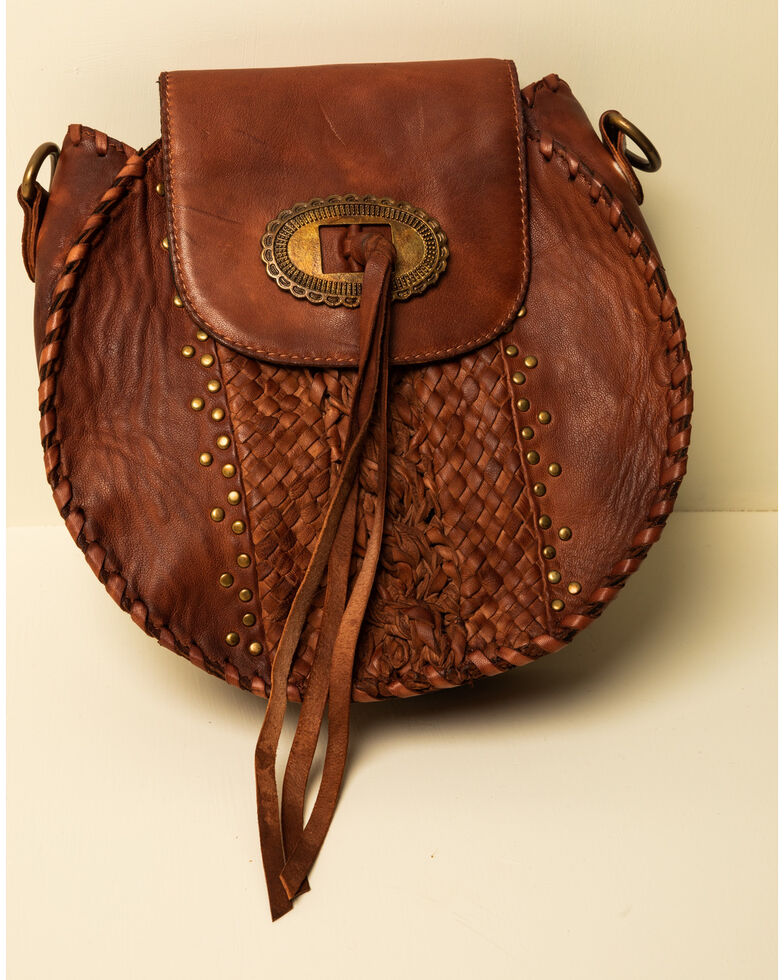 Idyllwind Women's The Round About Crossbody Bag, Brown, hi-res