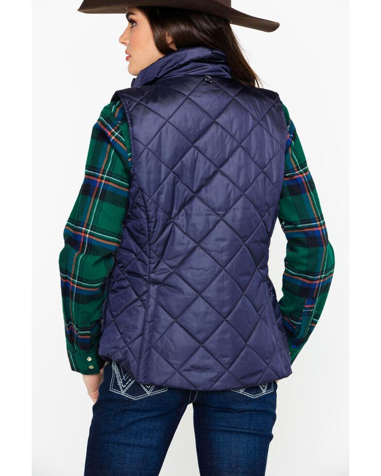 Ariat Women's Portico Vest, Navy, hi-res