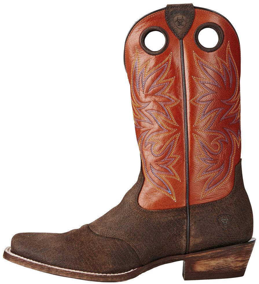 Ariat Men's Circuit Striker Boots - Square Toe, Chocolate, hi-res