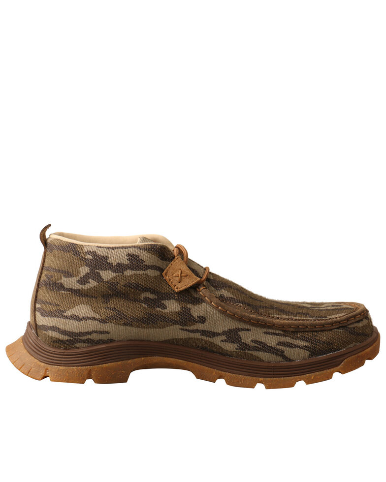 Twisted X Men's Black Chukka Hiking Boots - Soft Toe, Black, hi-res