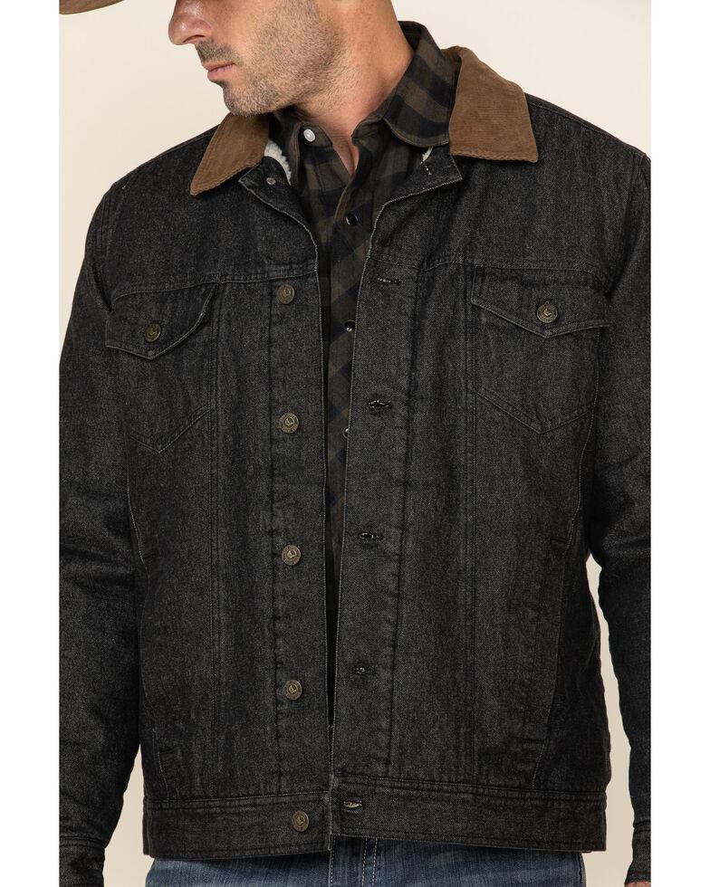 Cody James Men's Grand Teton 2.0 Western Dark Denim Jacket , Dark Blue, hi-res