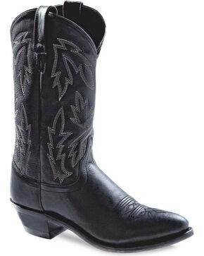 Old West Women's Polanil Western Cowboy Boots - Medium Toe, Black, hi-res