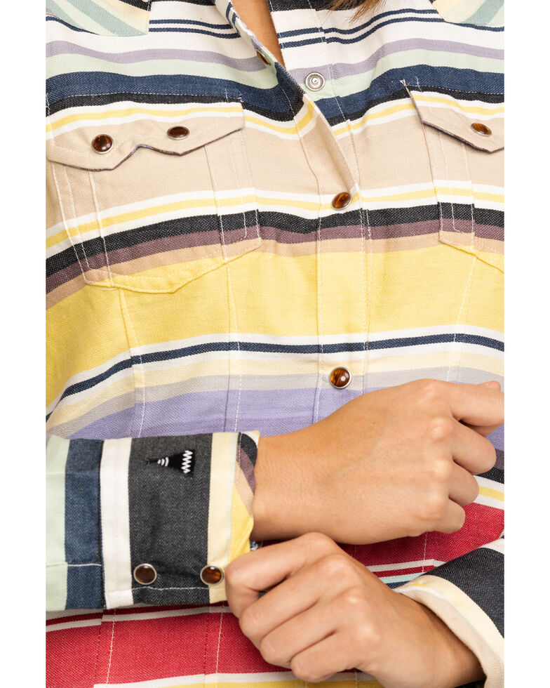 Tasha Polizzi Women's Colt 44 Western Long Sleeve Shirt, Multi, hi-res