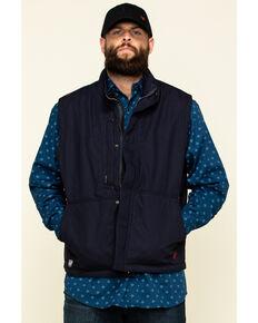 Ariat Men's Navy FR Workhorse Insulated Work Vest , Navy, hi-res