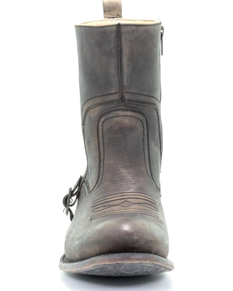 Corral Men's Brown Zipper Western Boots - Round Toe, Brown, hi-res