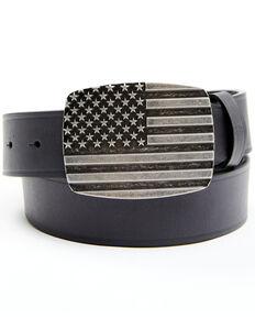 Cody James Men's Black Stars & Stripes Belt, Black, hi-res