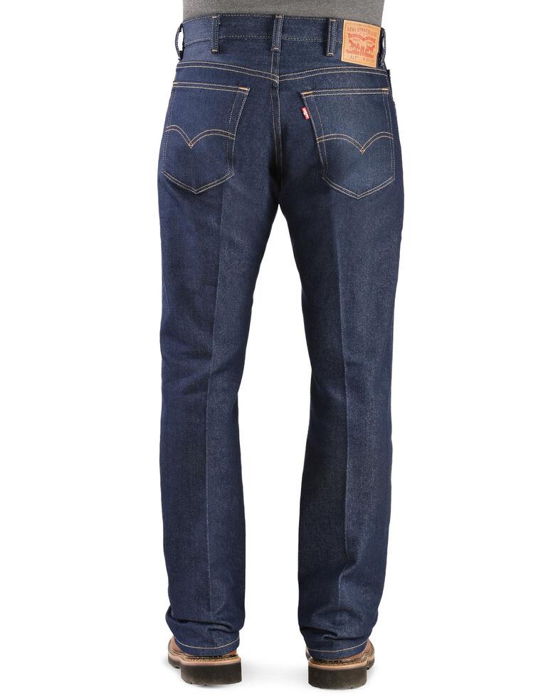 Levi's Men's 517 Dark Stretch Slim Bootcut Jeans , Indigo, hi-res