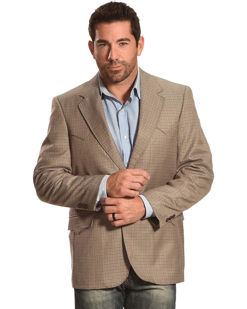 Circle S Plano Sport Coat, Taupe, hi-res