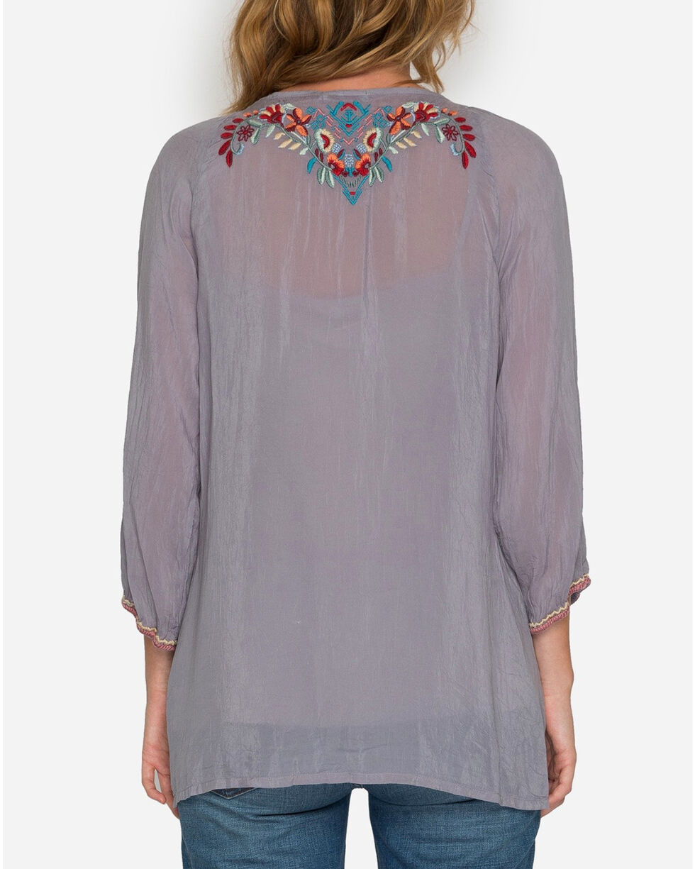 Johnny Was Women's Dolora Embroidered Blouse, , hi-res
