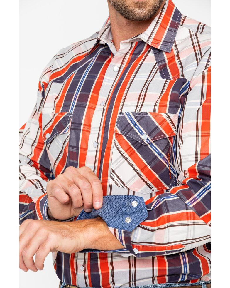 Resistol Men's Hettinger Plaid Long Sleeve Western Shirt , Multi, hi-res