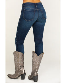 Ariat Women's Dark Ultra Stretch Skinny Olivia Jeans, Blue, hi-res