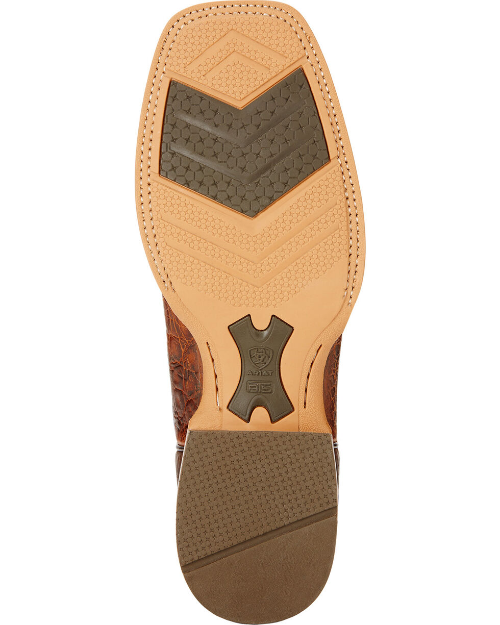 Ariat Cowhand Cowboy Boots - Square Toe , Clay, hi-res