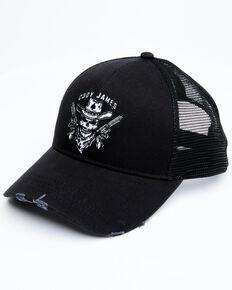 Cody James Men's Revolver Outlaw Mesh-Back Ball Cap , Black, hi-res