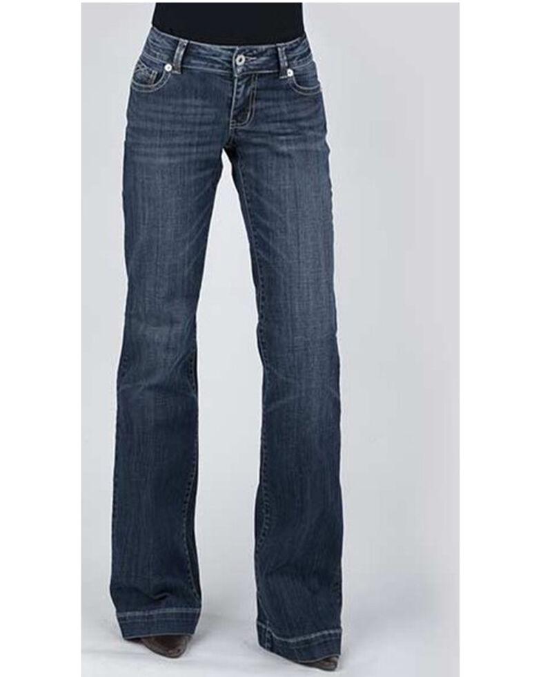 Stetson Women's 214 Trouser Jeans, Blue, hi-res