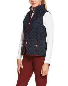 Ariat Women's Navy Ashley Vest, Navy, hi-res