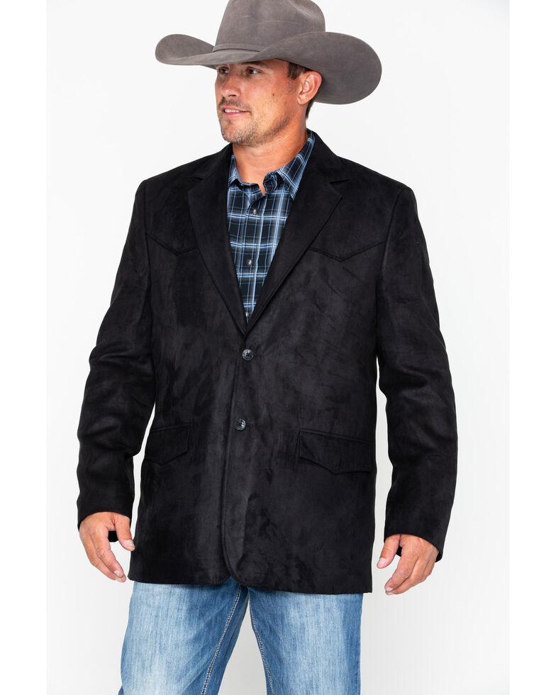 Cody James Men's Black Tombstone Blazer, Black, hi-res