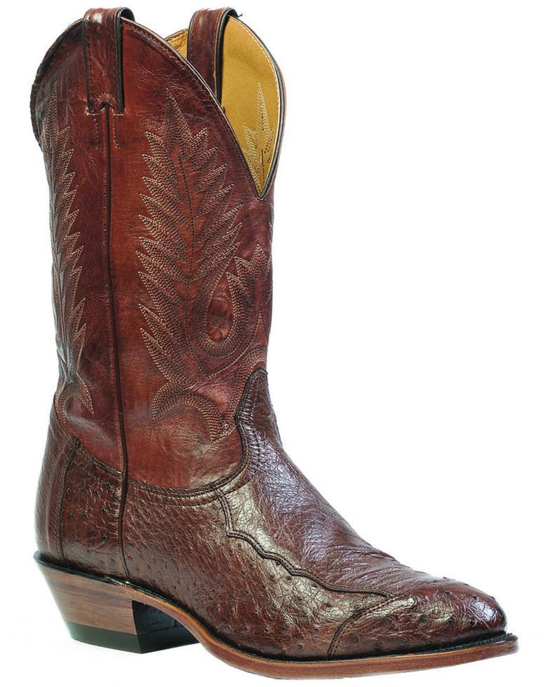 00ea2a8f765 Boulet 4-Piece Smooth Ostrich Boots - Medium Toe