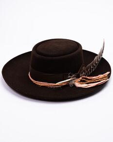 342f0a4bb Stetson Men's Chocolate Kings Row Fur Felt Hat