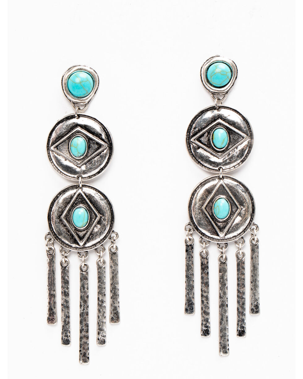 Idyllwind Women's Airstream Dream Earrings, Silver, hi-res