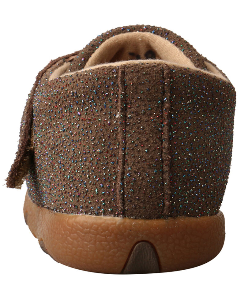 Twisted X Infant Girls' Casual Booties - Moc Toe, Chocolate, hi-res