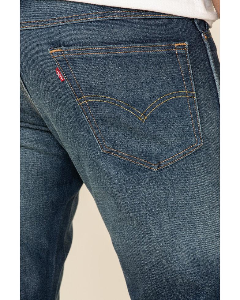 Levi's Men's Mountain Rain Med Wash Stretch Classic Straight Jeans , Blue, hi-res