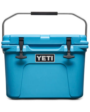 Yeti Coolers Roadie 20 Cooler , Bright Blue, hi-res