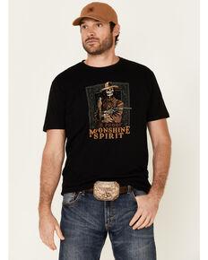 Moonshine Spirit Men's Outlaw Graphic Short Sleeve T-Shirt , Black, hi-res
