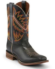 Nocona Men's Deputy Black Western Boots - Square Toe, Black, hi-res