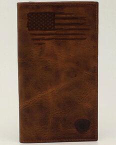 Ariat Men's USA Flag Rodeo Wallet, No Color, hi-res