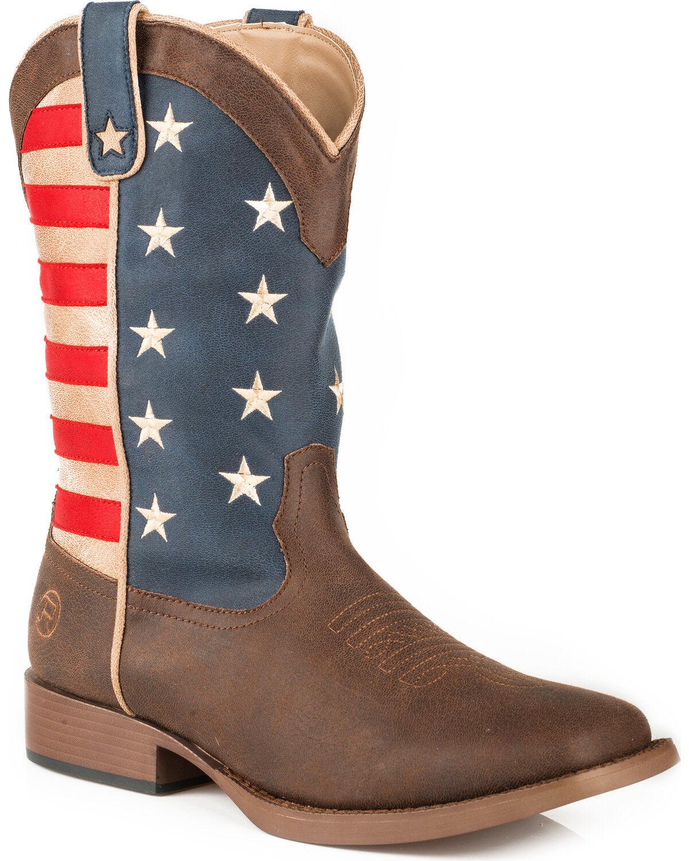 Roper Women's American Patriot Stars